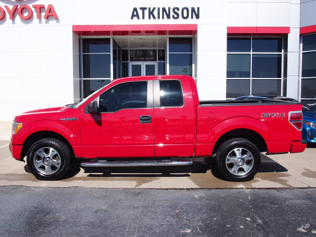 2009 Bright Red Clearcoat Ford F 150