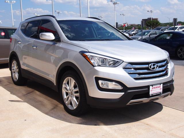 2013 Moonstone Silver Hyundai Santa Fe Suvs Theeagle Com