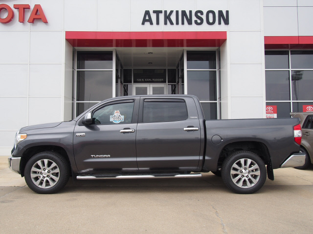 2014 Magnetic Gray Metallic Toyota Tundra Trucks