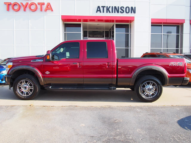 2015 Ruby Red Metallic Clear Coat/Caribou Ford F-250 ...