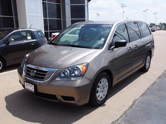 Atkinson Toyota Bryan Tx >> 2009 Mocha Metallic Honda Odyssey - The Eagle: Van