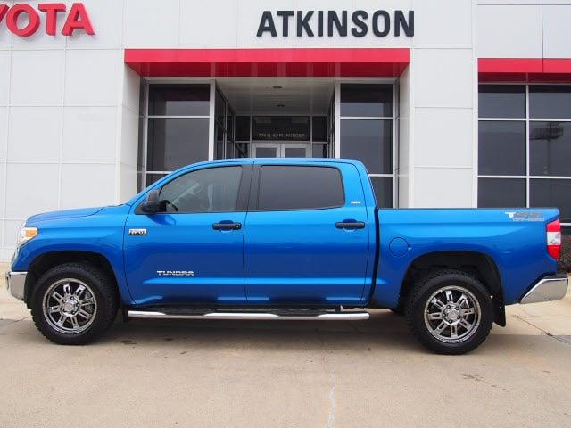 2016 Blazing Blue Pearl Toyota Tundra Cars Theeagle Com