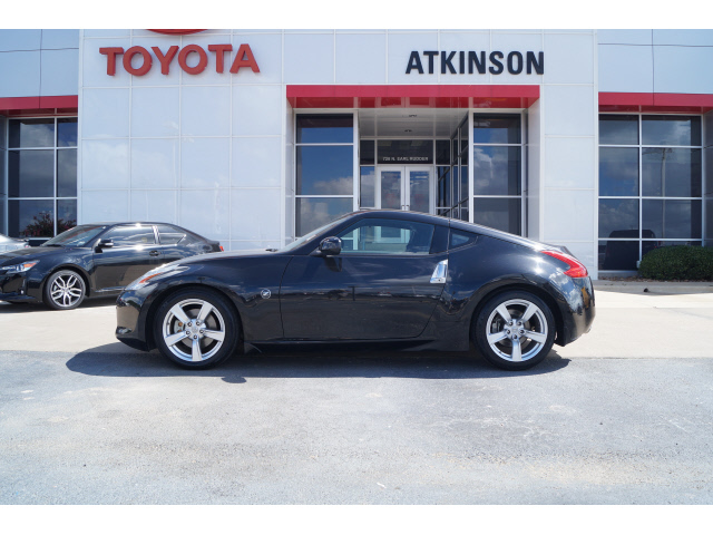 2010 Magnetic Black Nissan 370z Coupes Theeagle