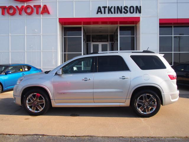 Atkinson Toyota Bryan Tx >> 2012 Quicksilver Metallic GMC Acadia - The Eagle: Suv