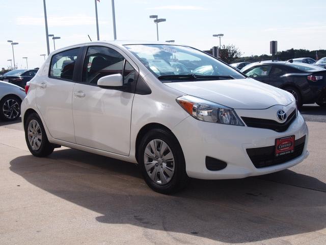 2014 Super White Toyota Yaris | Cars | theeagle com