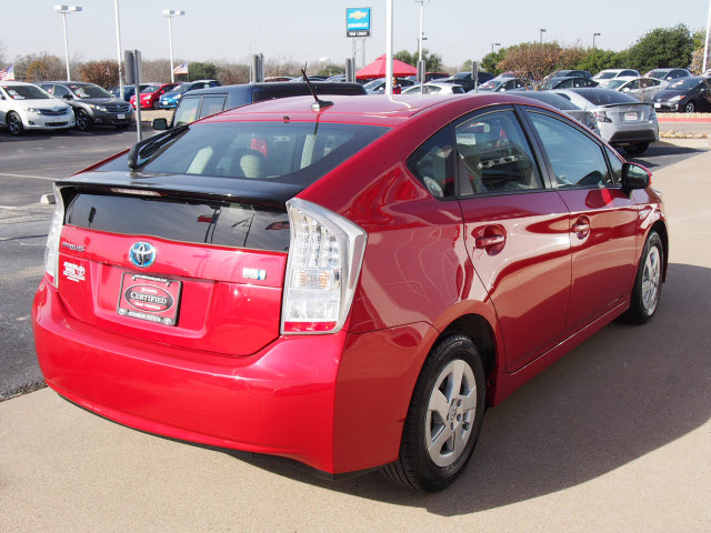 2010 Barcelona Red Metallic Toyota Prius Cars Theeagle Com
