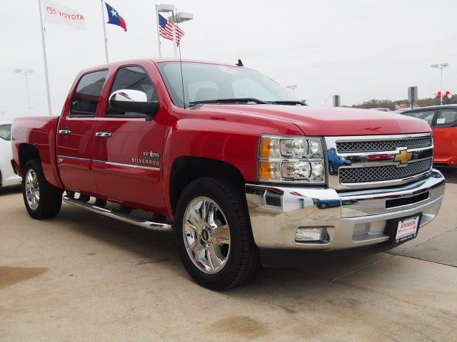 2012 Victory Red Chevrolet Silverado 1500 Trucks