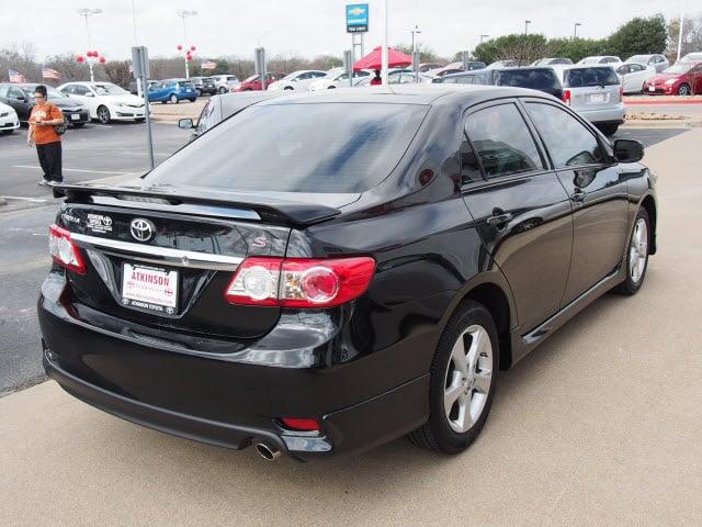 Atkinson Toyota Bryan Tx >> 2013 Black Sand Pearl Toyota Corolla - The Eagle: Sedan