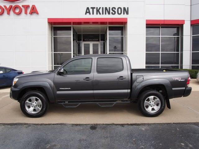 2013 Magnetic Gray Metallic Toyota Tacoma | Trucks ...