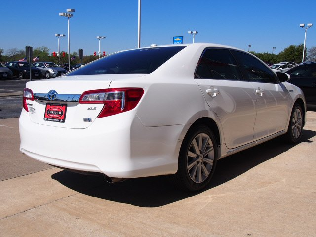 2012 Super White Toyota Camry Hybrid Sedans Theeagle Com