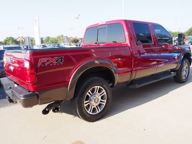 Atkinson Toyota Bryan Tx >> 2015 Ruby Red Metallic Clear Coat/Caribou Ford F-250 - The ...