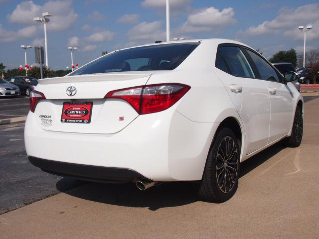 White Toyota Corolla >> 2014 Super White Toyota Corolla