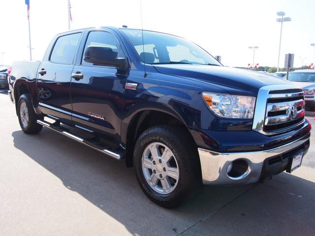 2013 Nautical Blue Metallic Toyota Tundra Trucks