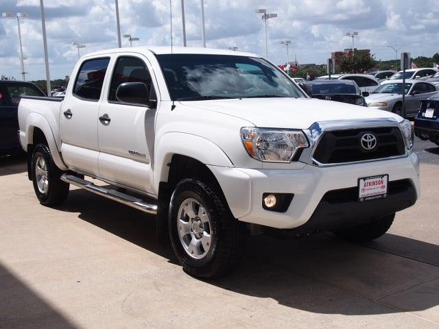 2015 Super White Toyota Tacoma Trucks Theeagle Com