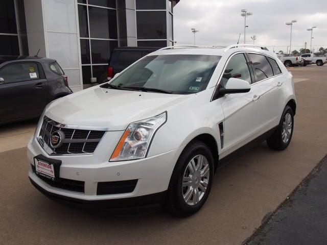 2010 White Cadillac Srx