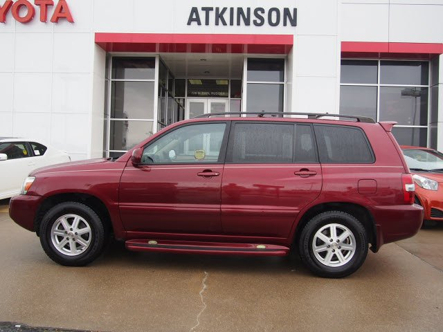Atkinson Toyota Bryan Tx >> 2007 Salsa Red Pearl Toyota Highlander - The Eagle: Suv