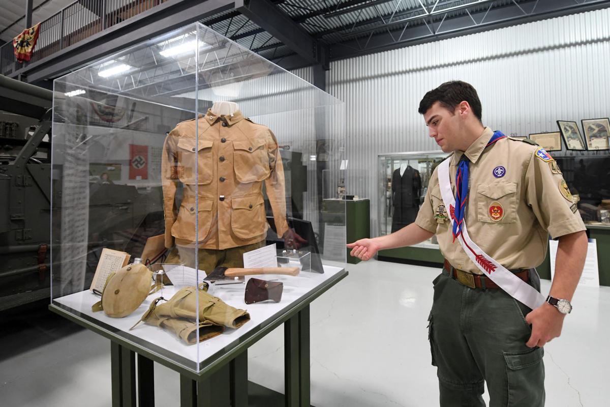 Eagle Scout exhibit