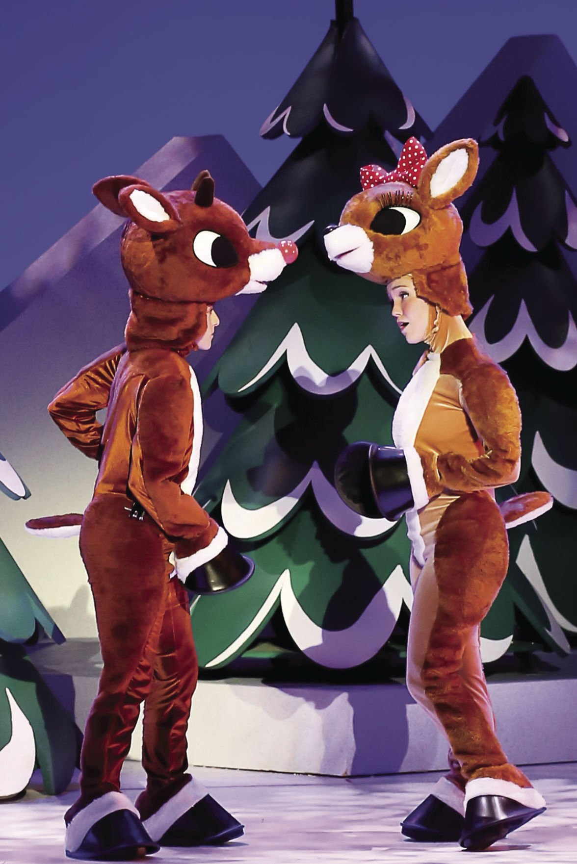 Rudolph Comes To Life On Rudder Stage But Doesn T Stray From Television Classic Local News Theeagle Com