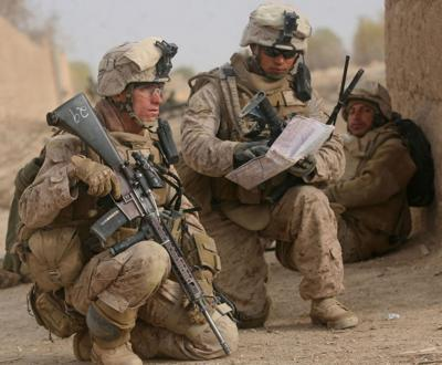 Americans who fought in Afghanistan wait to see how their war ends