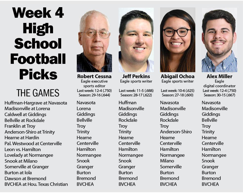 Week 4 HS football picks