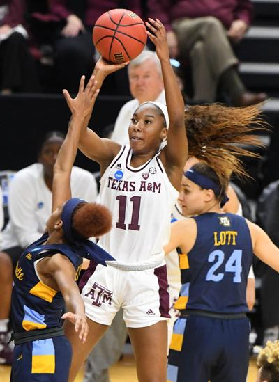 Texas A&M women's basketball team headed to Chicago