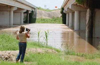 Area rivers reach flood stage | Local News | theeagle com