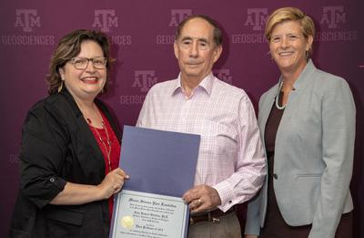 Texas A&M's Rick Giardino recognized by Minnie Stevens Piper Foundation