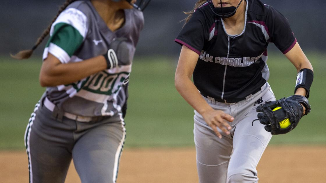 A&M Consolidated softball team takes care of Rudder in 19-5A