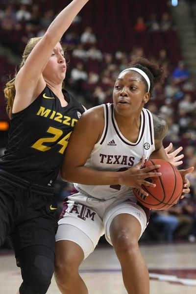 Texas A&M women's basketball vs. Missouri