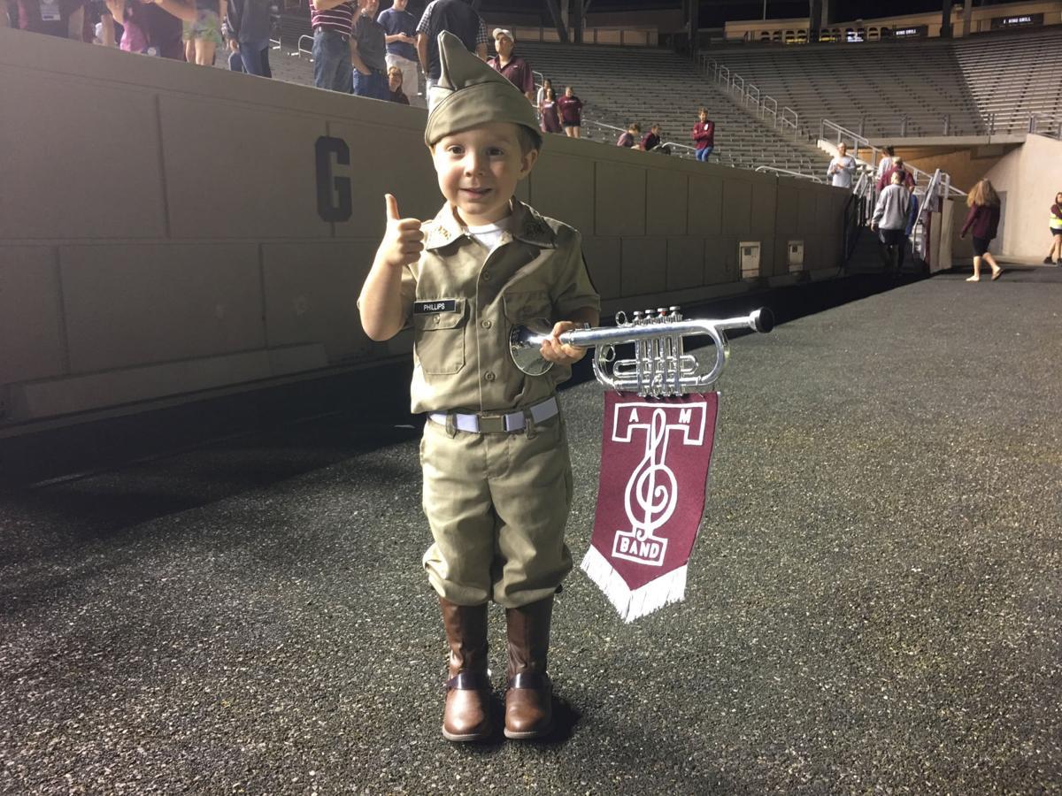 Landon Phillips Aggie Band Uniform Kid
