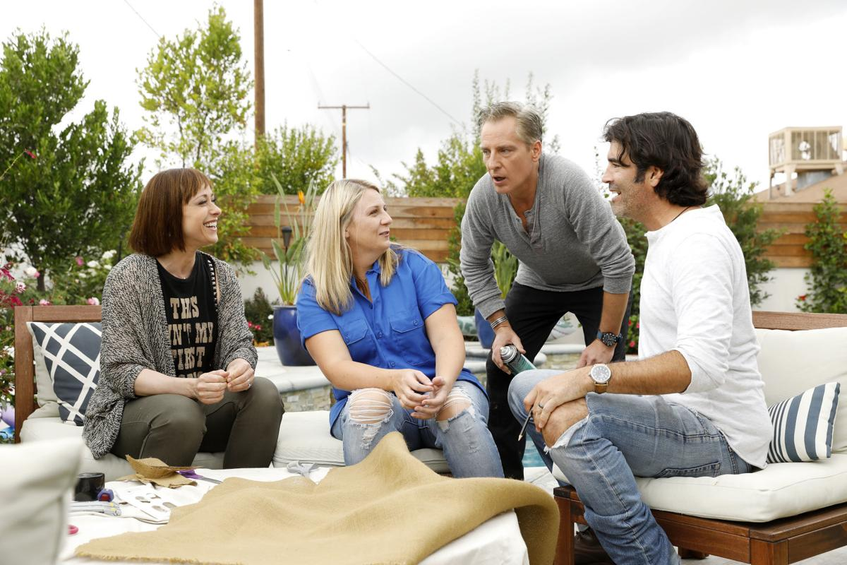 Paige Trading Spaces Trading Spaces Returns To Tlc As Comfortable As An Old