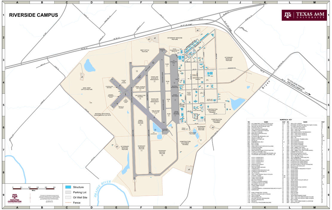 Riverside Campus Map.Texas A M Announces Plans To Expand Riverside Campus Texas A M
