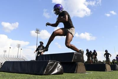 College Station HS football practice