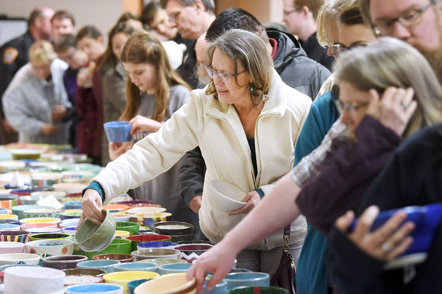 13th annual Brazos Valley Empty Bowls