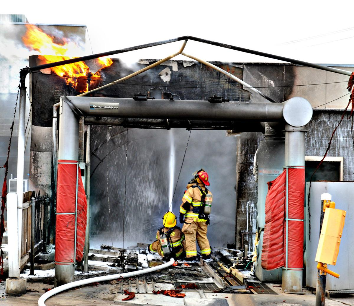 Car Wash Destroyed In Fire Off Rock Prairie Road In