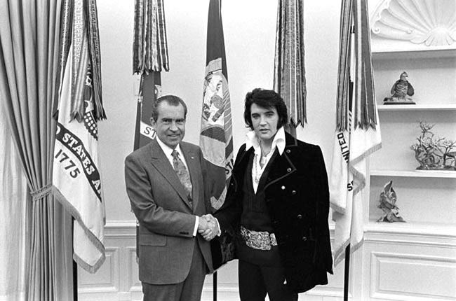 President Nixon meets Elvis