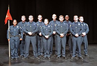Bryan officers sworn in