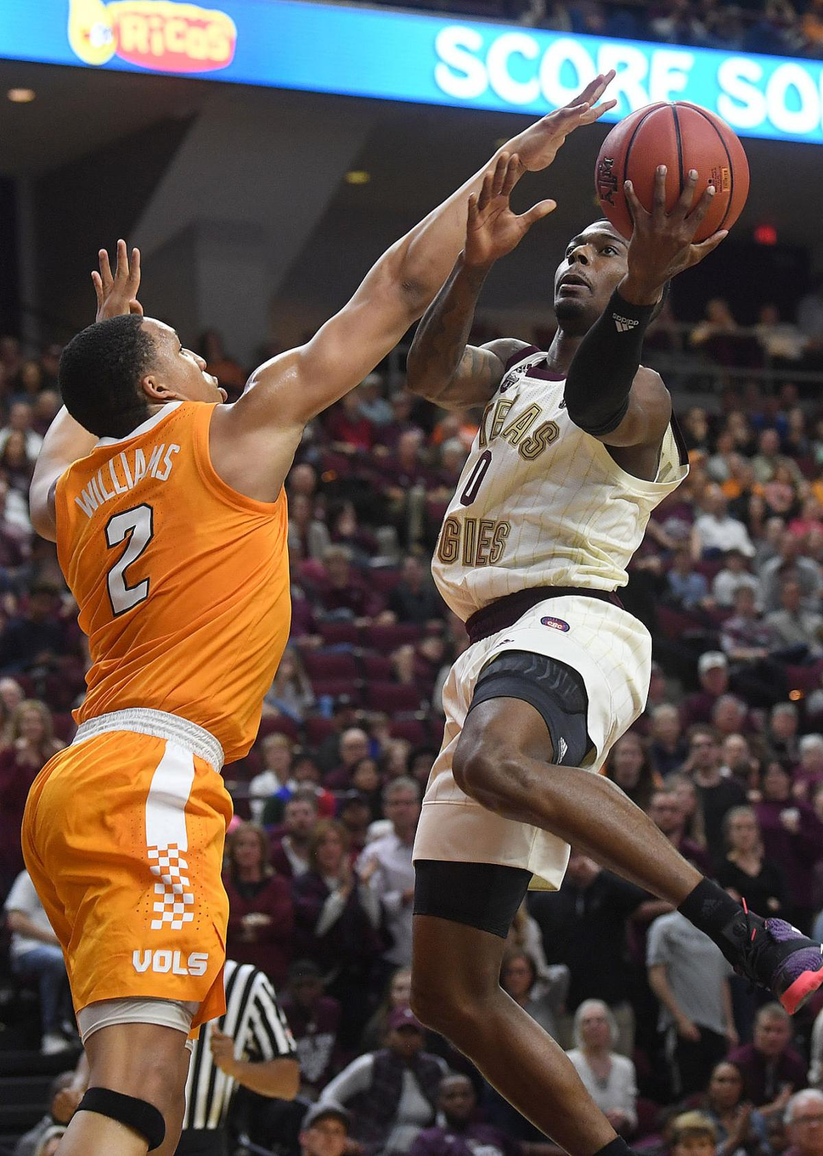 Texas A&M vs. Tennessee men's basketball