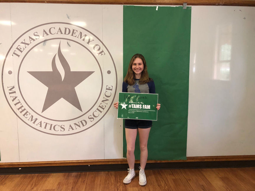 College Station high schooler to attend University of North Texas through TAMS program