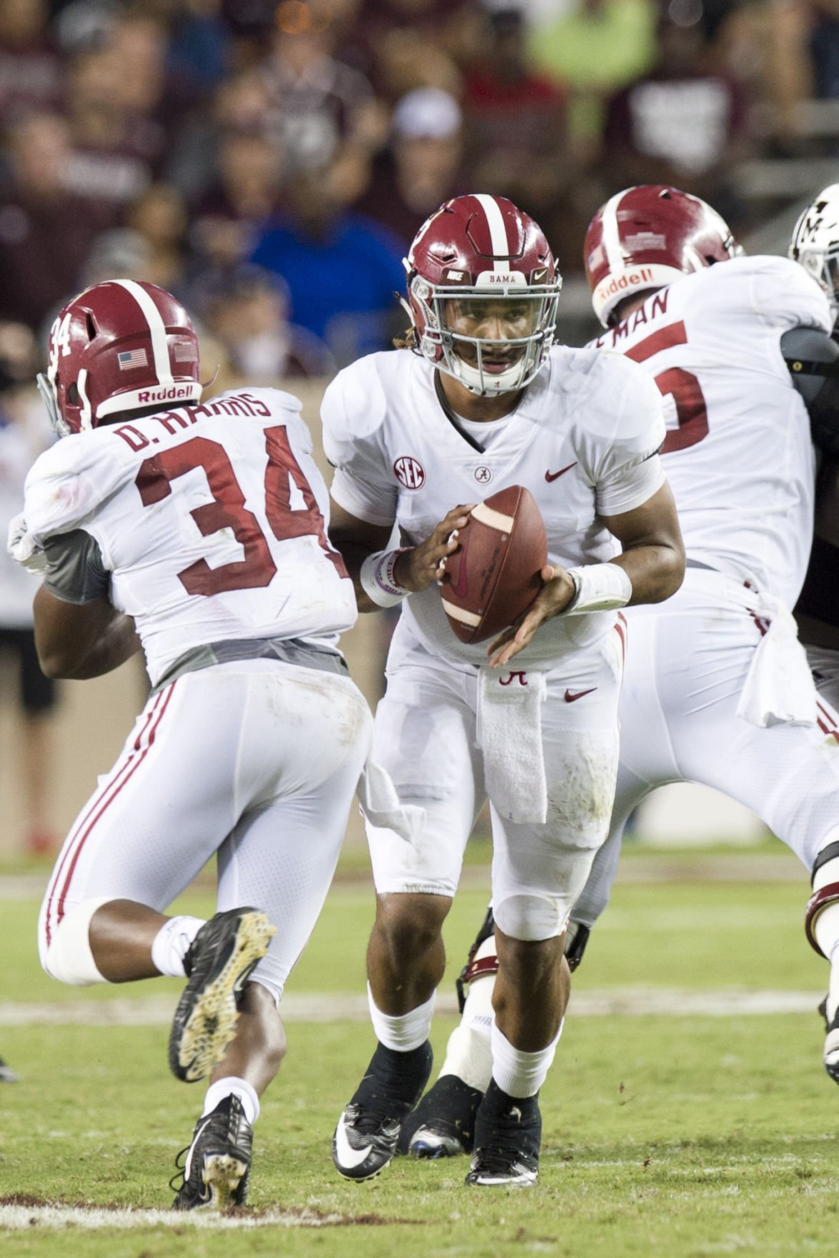 Texas A M Shows Its Ready For Rest Of 2017 In Loss To No 1 Alabama