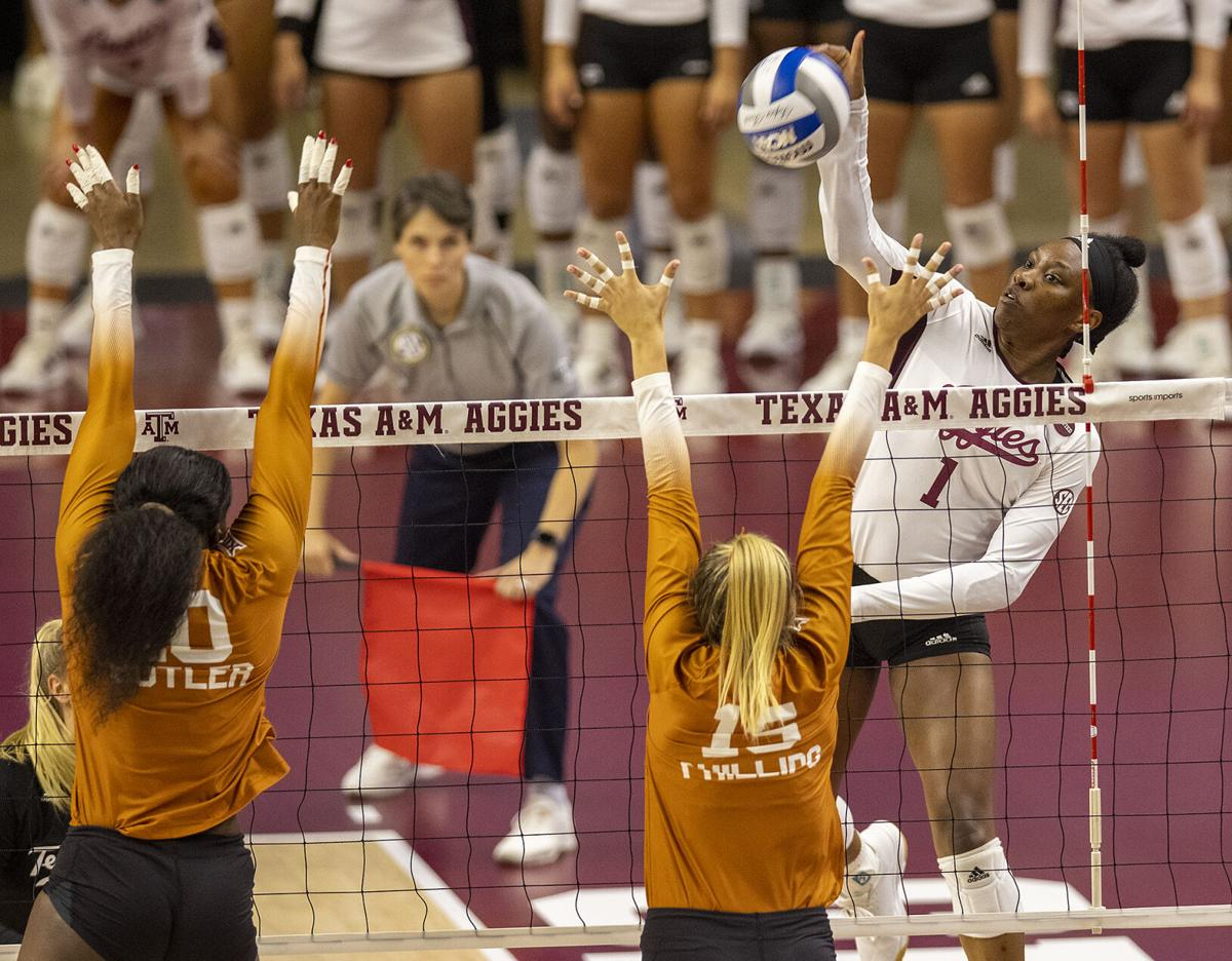 A&M volleyball one