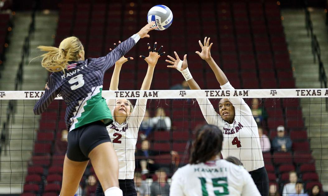 Texas A&M volleyball team loses to Hawaii in NCAA second round | Volleyball | theeagle.com