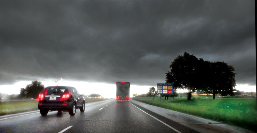 Severe storms — including a tornado in Brazos County — roll