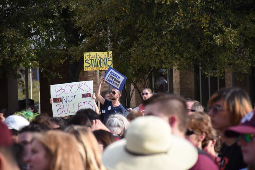 March for Our Lives at Texas A&M