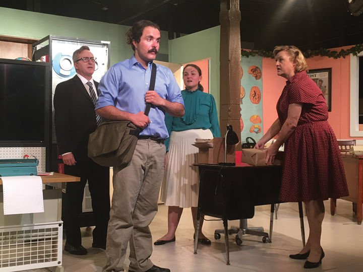 'The Desk Set' highlights current issues in a '50s setting