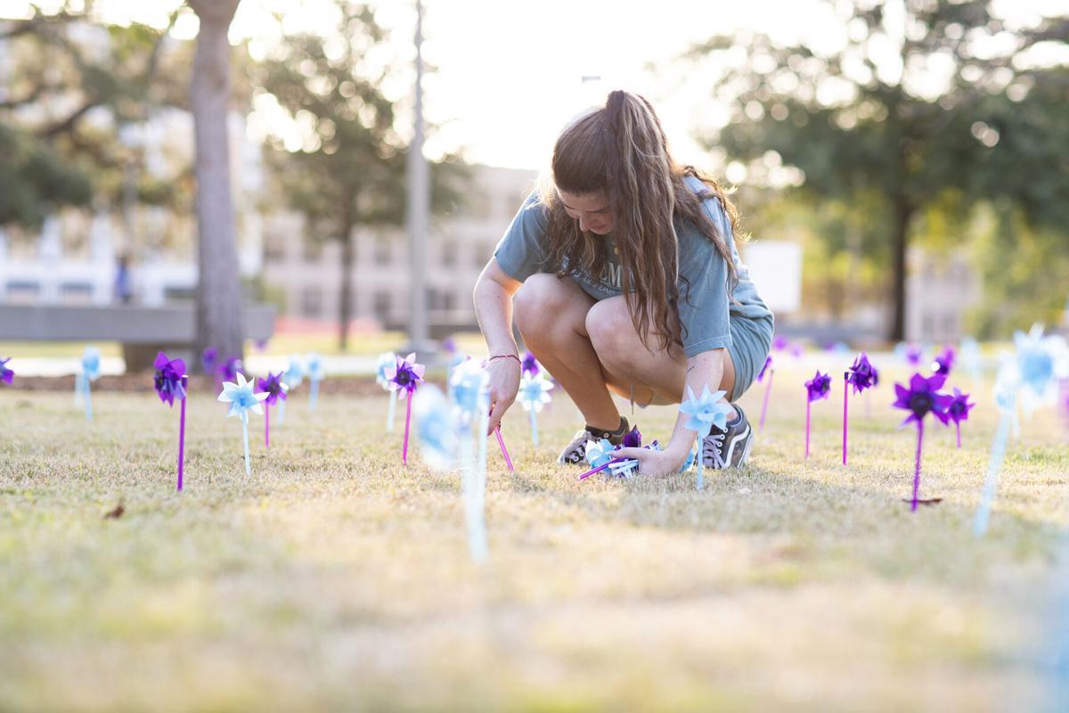 Suicide Awareness Pinwheels