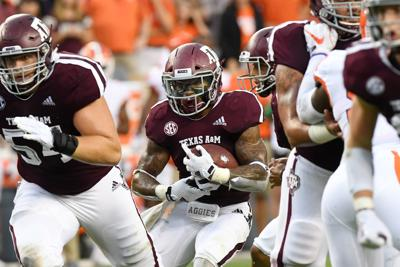 RB Trayveon Williams gives Texas A&M new edge in LSU series