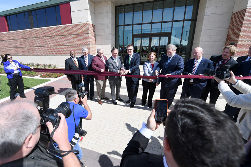 Texas A M Holds Ribbon Cutting For New Infrastructure Research