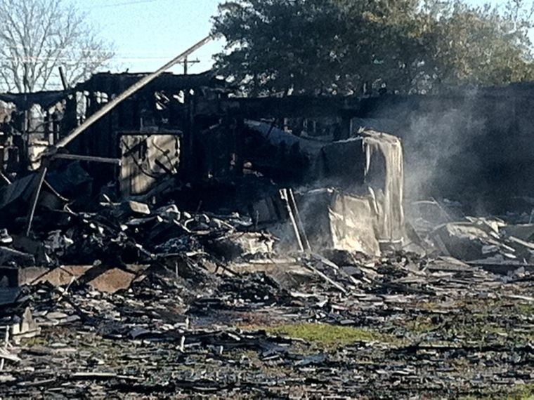 Bryan firefighter killed, three injured when roof collapses