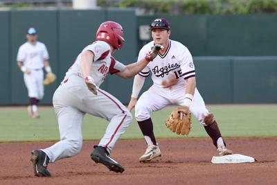 Texas A&M vs. Arkansas baseball